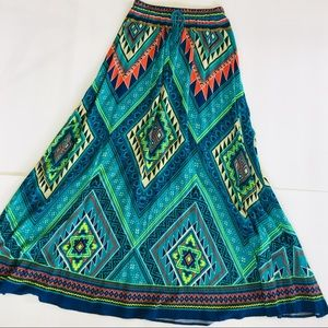 Flying Tomato Multi Colored Maxi Skirt